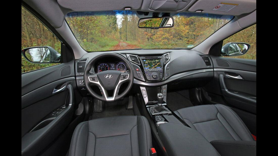 Hyundai i40 1.6 GDI, Cockpit