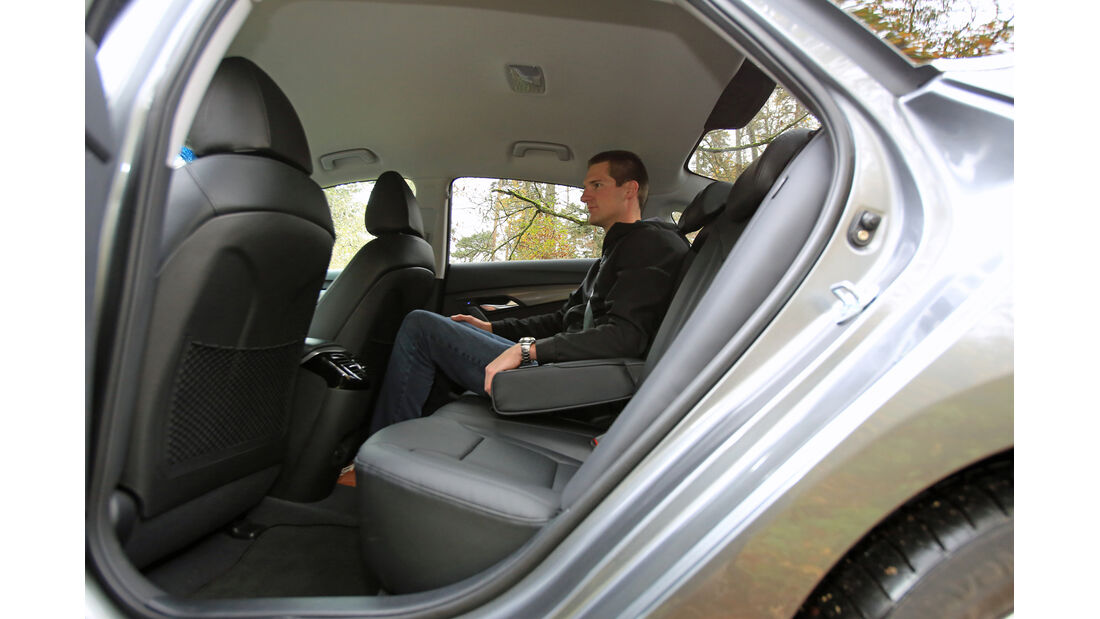 Hyundai i40 1.6 GDI, Fondisitz, Beinfreiheit