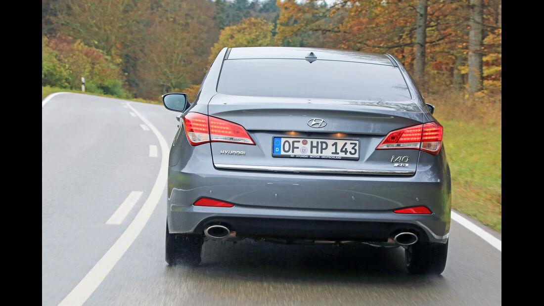 Hyundai i40 1.6 GDI, Heckansicht