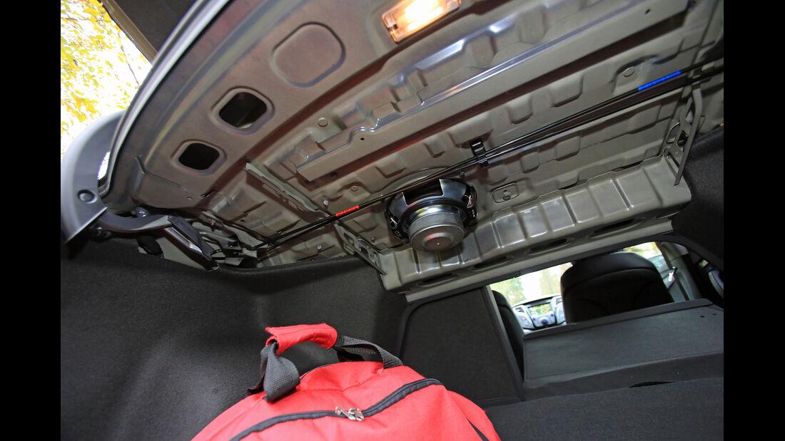 Hyundai i40 1.6 GDI, Heckklappe, Lautsprecher