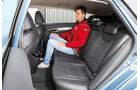Hyundai i40 1.7 CRDi, Rücksitz, Beinfreiheit