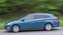 Hyundai i40 1.7 CRDi, Seitenansicht