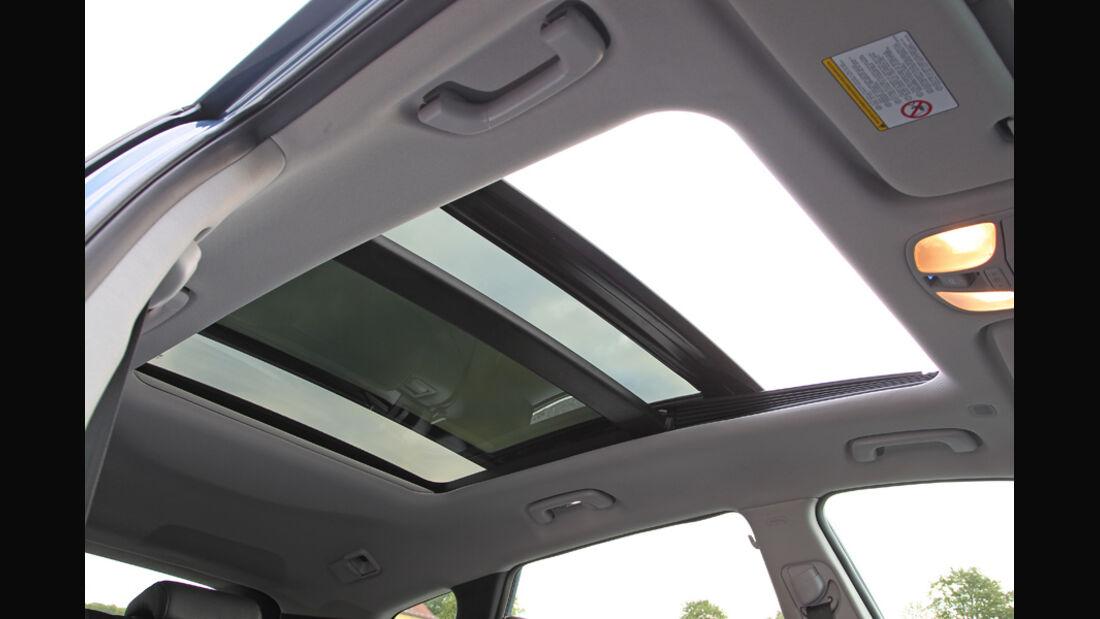Hyundai i40 1.7 CRDi Style, Detail, Innenraum, Schiebedach