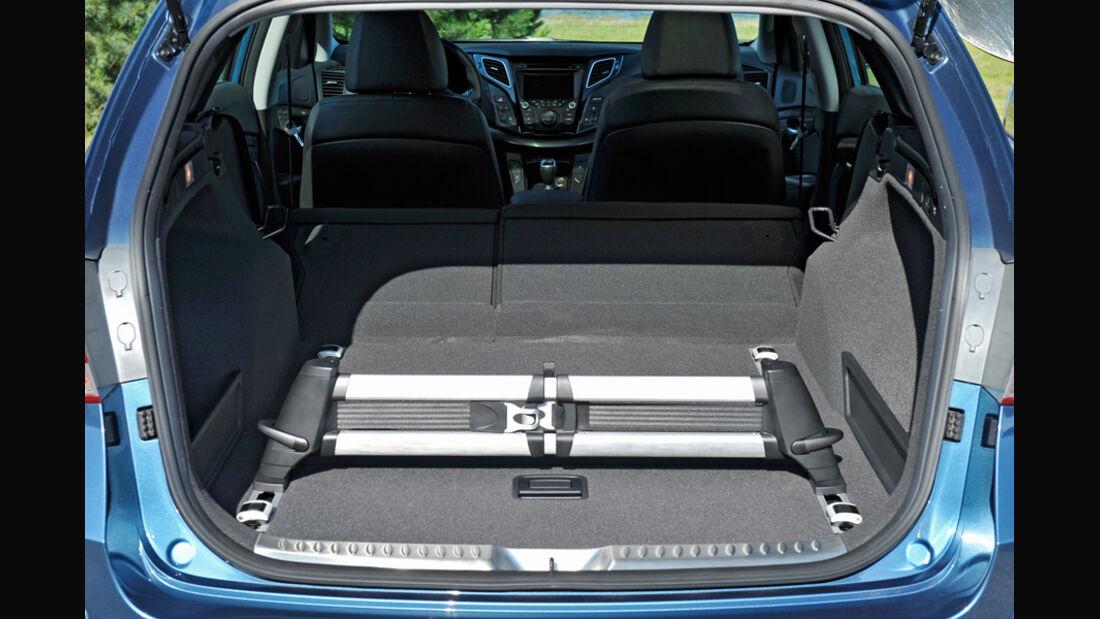 Hyundai i40 1.7 CRDi Style, Detail, Kofferraum