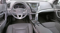 Hyundai i40 2.0, Cockpit