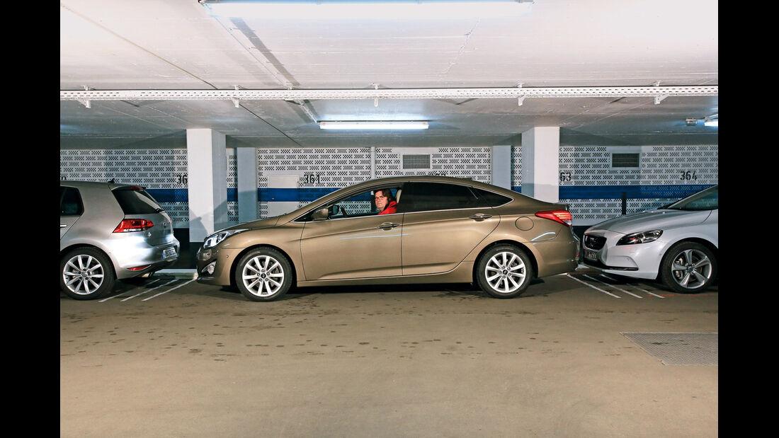 Hyundai i40, Einparktest