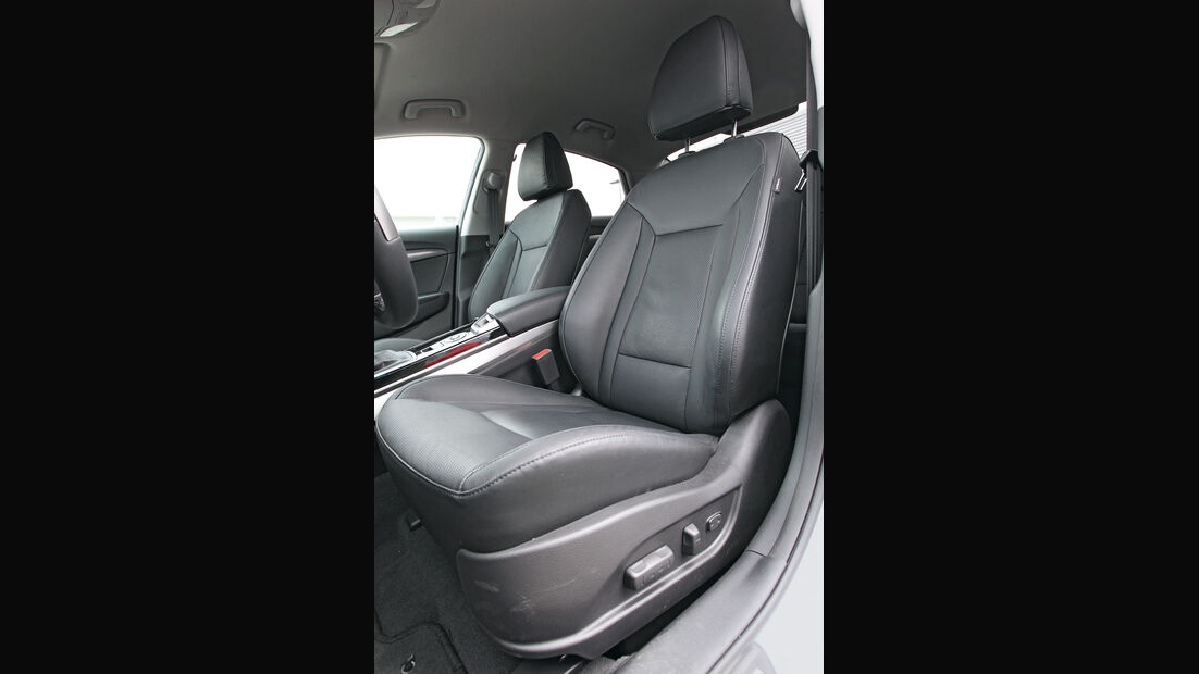 Hyundai i40, Fahrersitz