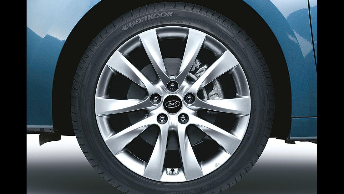 Hyundai i40, Felge