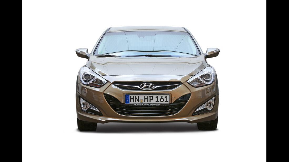 Hyundai i40, Frontansicht