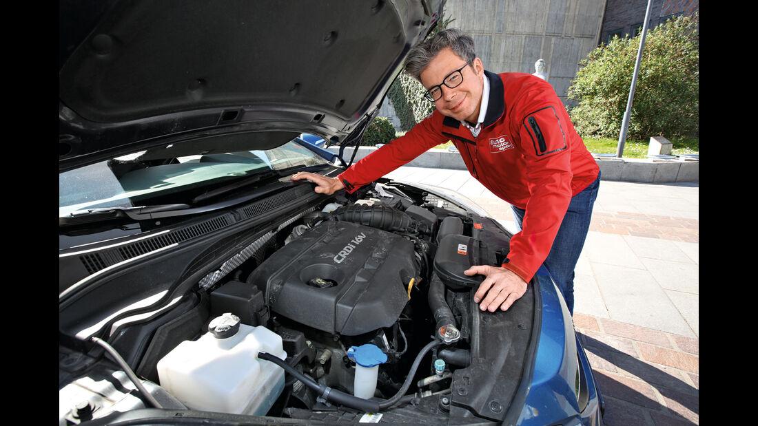 Hyundai i40 Kombi 1.7 CRDi, Motor, Dirk Gulde