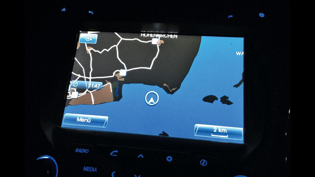 Hyundai i40 Kombi 1.7 CRDi, Navi-Fehler