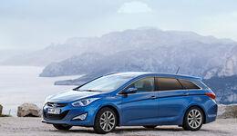 Hyundai i40 Kombi 1.7 CRDi, Seitenansicht