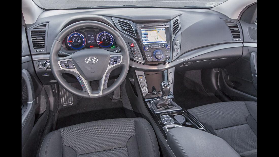 Hyundai i40 Kombi Blue 1.7 CRDi, Cockpit
