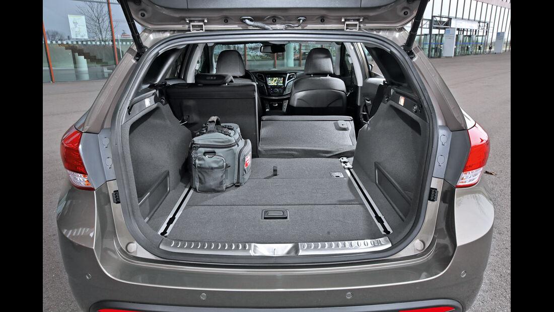 Hyundai i40 Kombi Blue 1.7 CRDi Style, Kofferraum