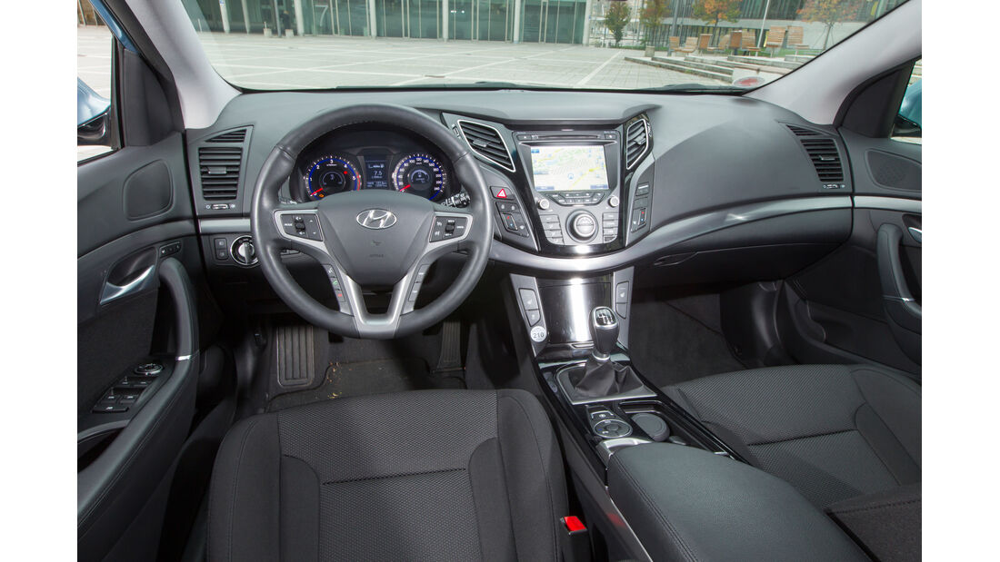 Hyundai i40 Kombi, Cockpit