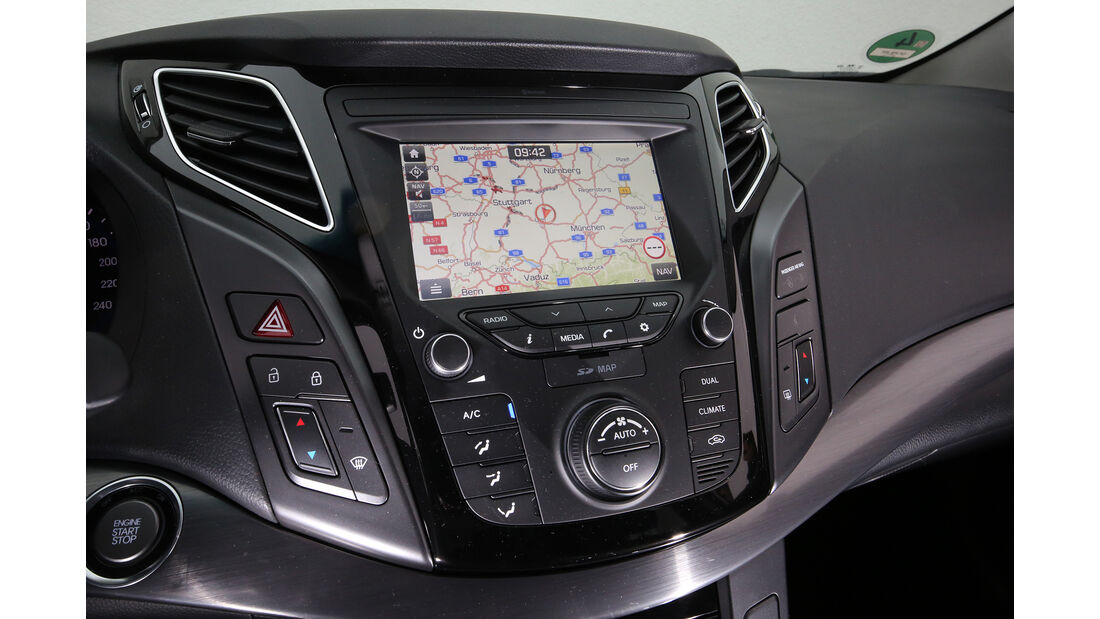 Hyundai i40 Kombi, Interieur