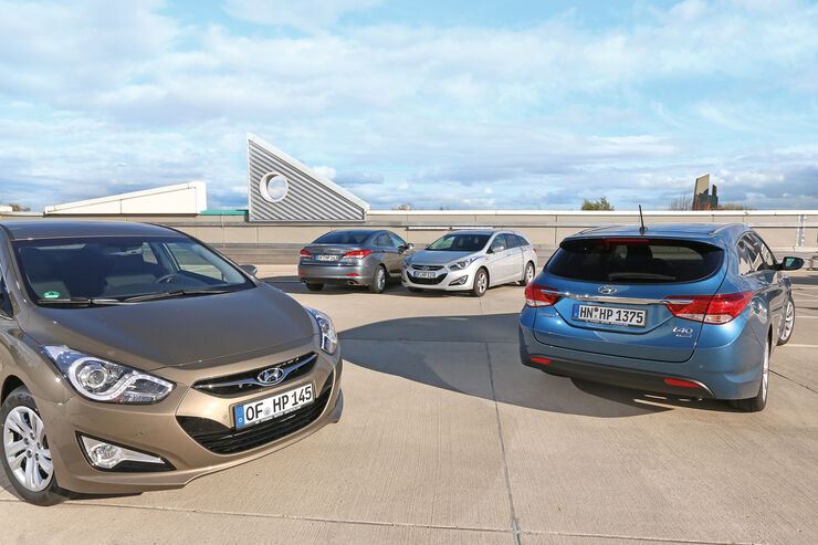 Hyundai i40, Modellvarianten