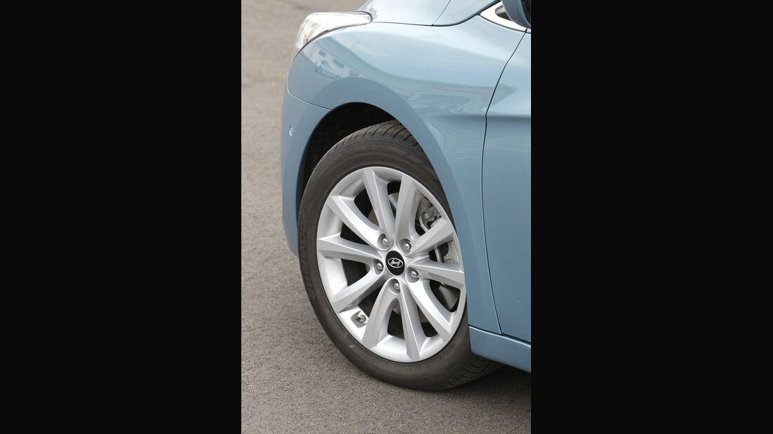 Hyundai i40, Rad, Felge