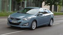 Hyundai i40, Seitenansicht