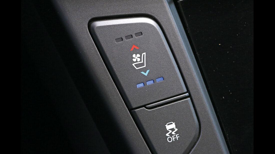 Hyundai i40, Sitzheizung