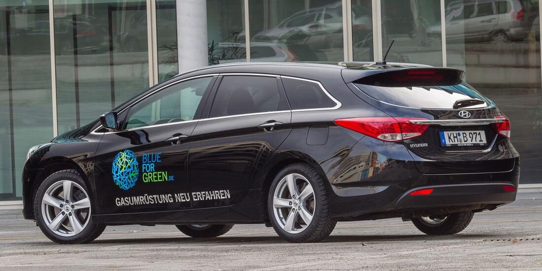 Hyundai i40 cw 2.0 GDi LPG, Heckansicht