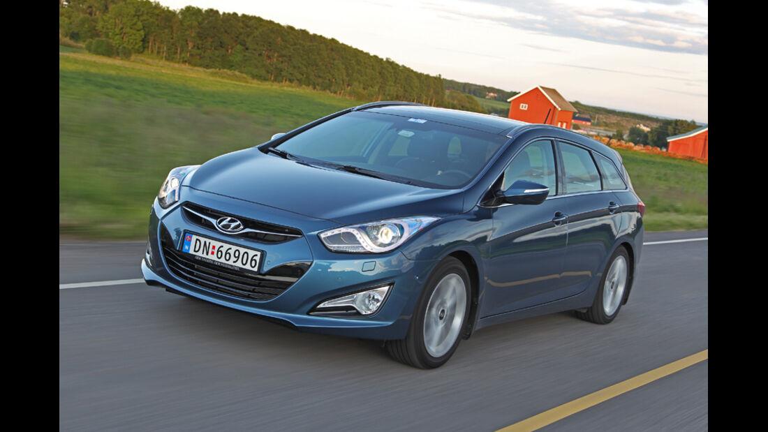 Hyundai i40 cw, Frontansicht