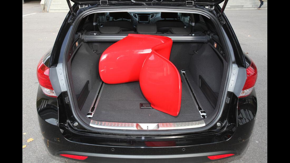 Hyundai i40 cw, Kofferraum
