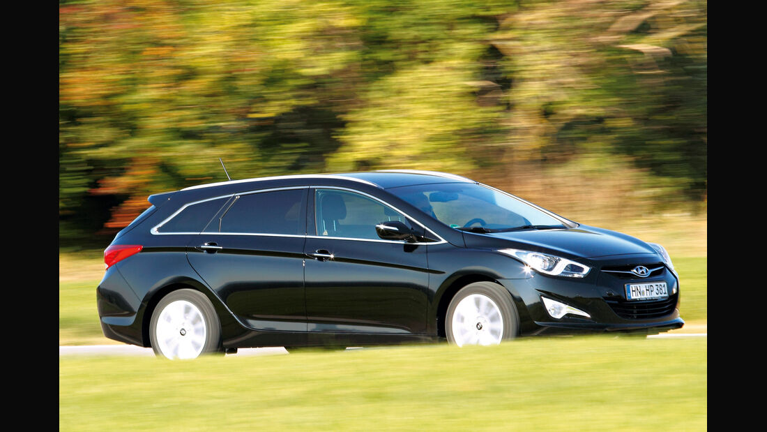 Hyundai i40 cw, Seitenansicht