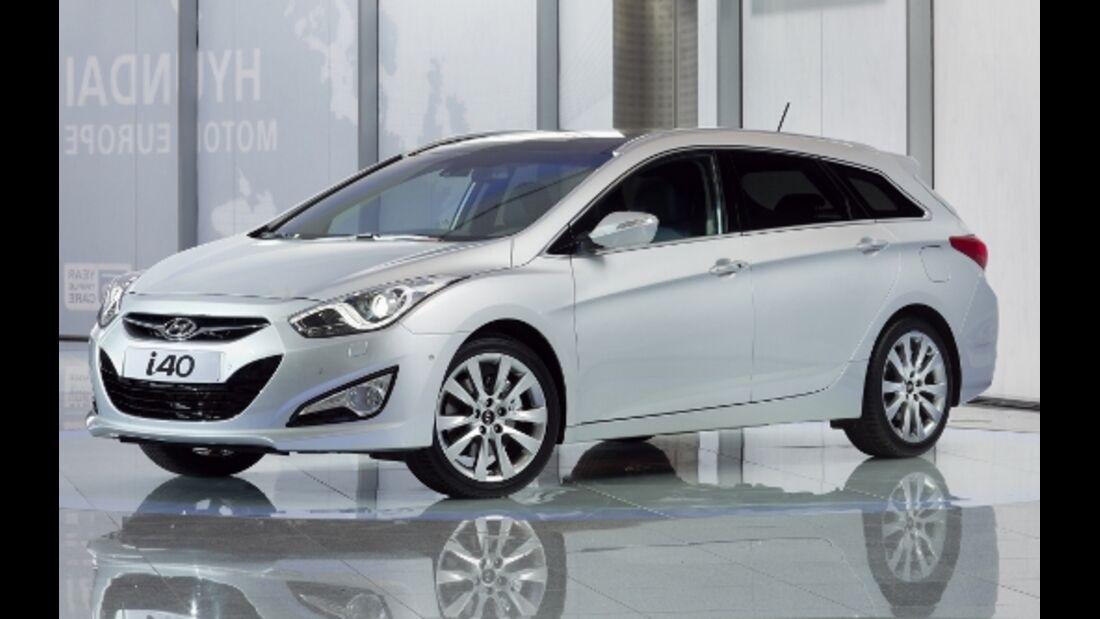 Hyundai i40 cw erorbert die Mittelklasse
