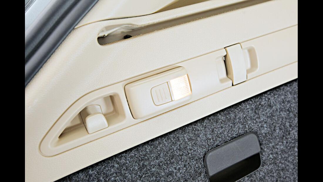 Hyundai i40 cw, integrierte Taschenlampe