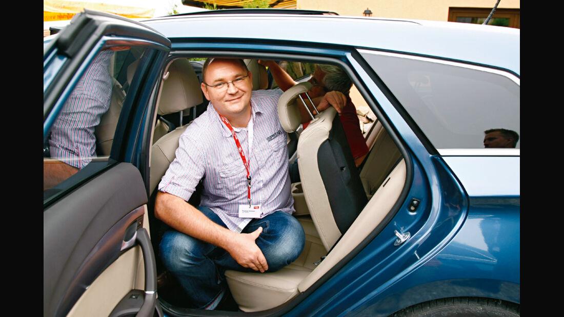 Hyundai i40cw, Thomas Grimmer