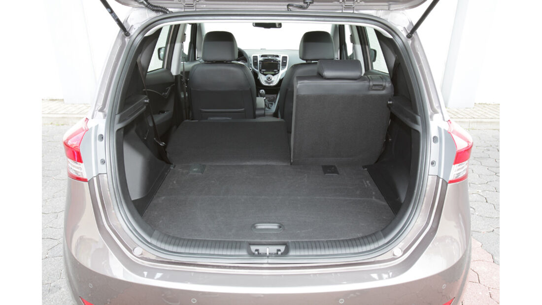Hyundai ix20 Blue 1.4 CRDi, Kofferraum