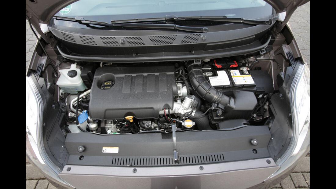 Hyundai ix20 Blue 1.4 CRDi, Motorraum