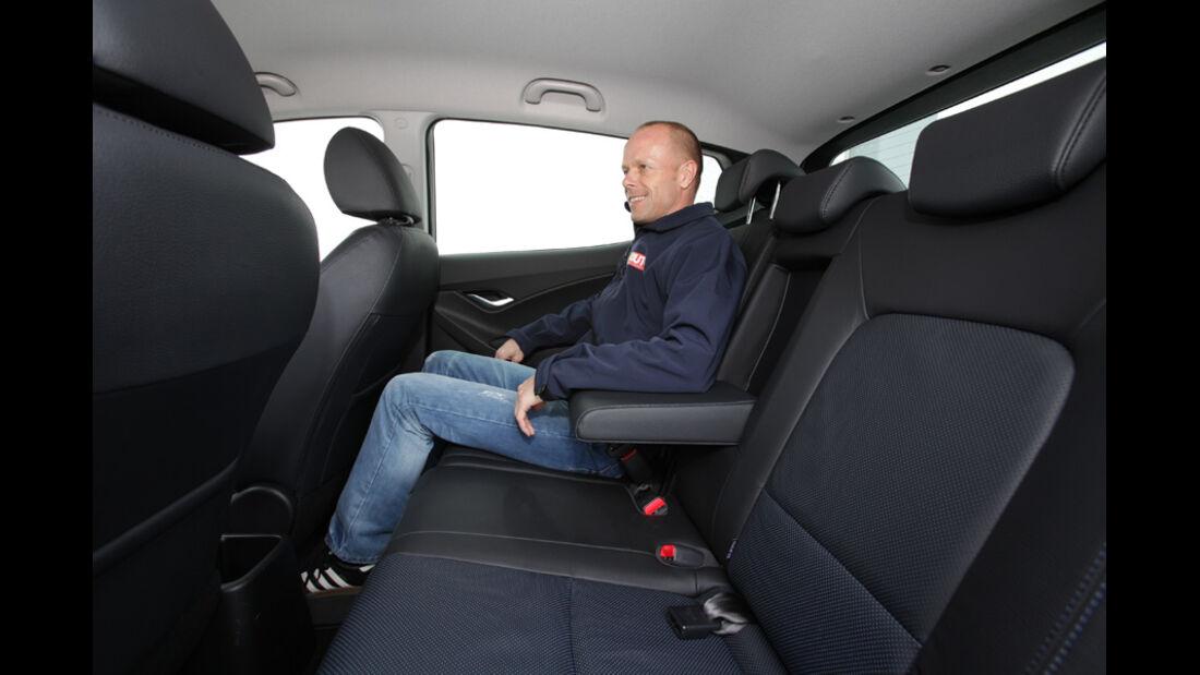 Hyundai ix20 Blue 1.4 CRDi, Rücksitze, Rückbank