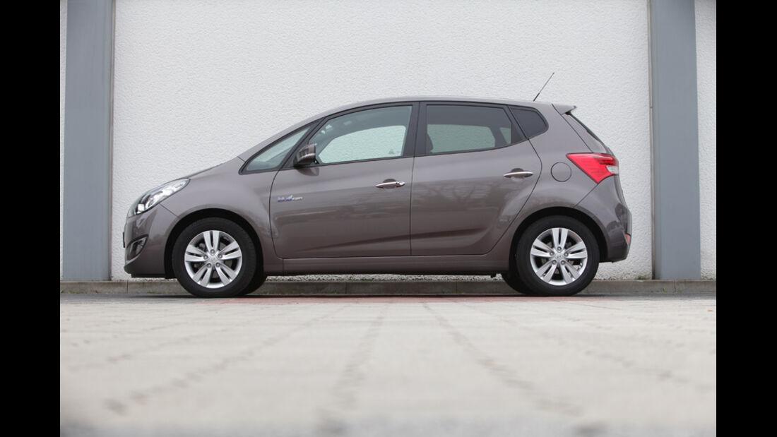 Hyundai ix20 Blue 1.4 CRDi, Seitenansicht