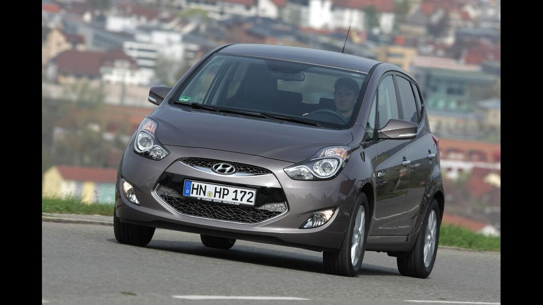 Hyundai ix20, Frontansicht
