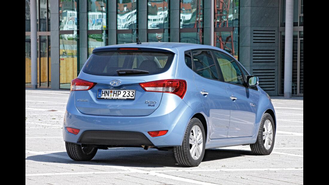 Hyundai ix20, Heckansicht
