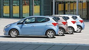 Hyundai ix20, Seitenansicht