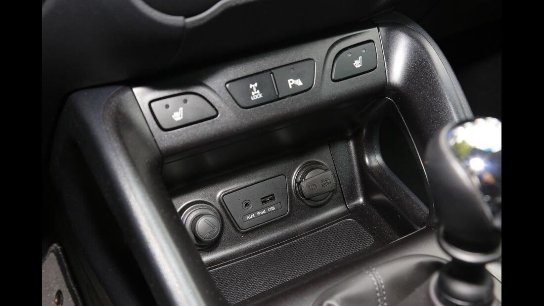 Hyundai ix35 2.0 CRDi 4WD, Bedienelemente
