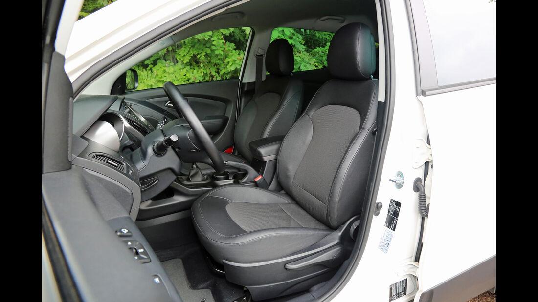 Hyundai ix35 2.0 CRDi 4WD, Fahrersitz