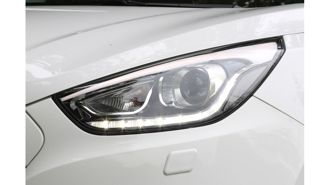 Hyundai ix35 2.0 CRDi 4WD, Frontscheinwerfer