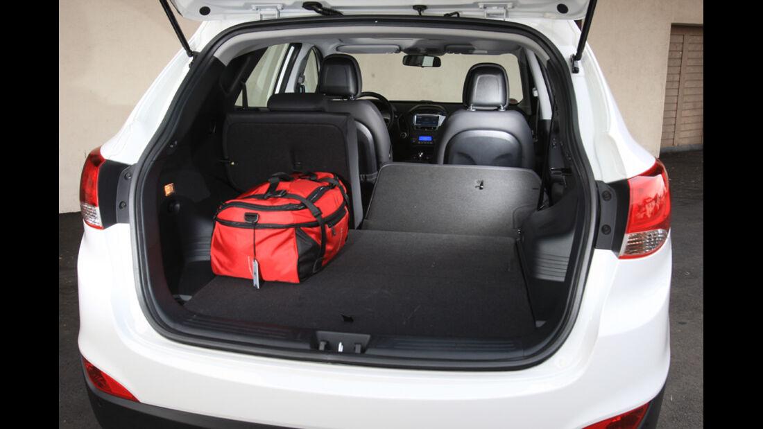 Hyundai ix35 2.0 CRDi 4WD, Kofferraum