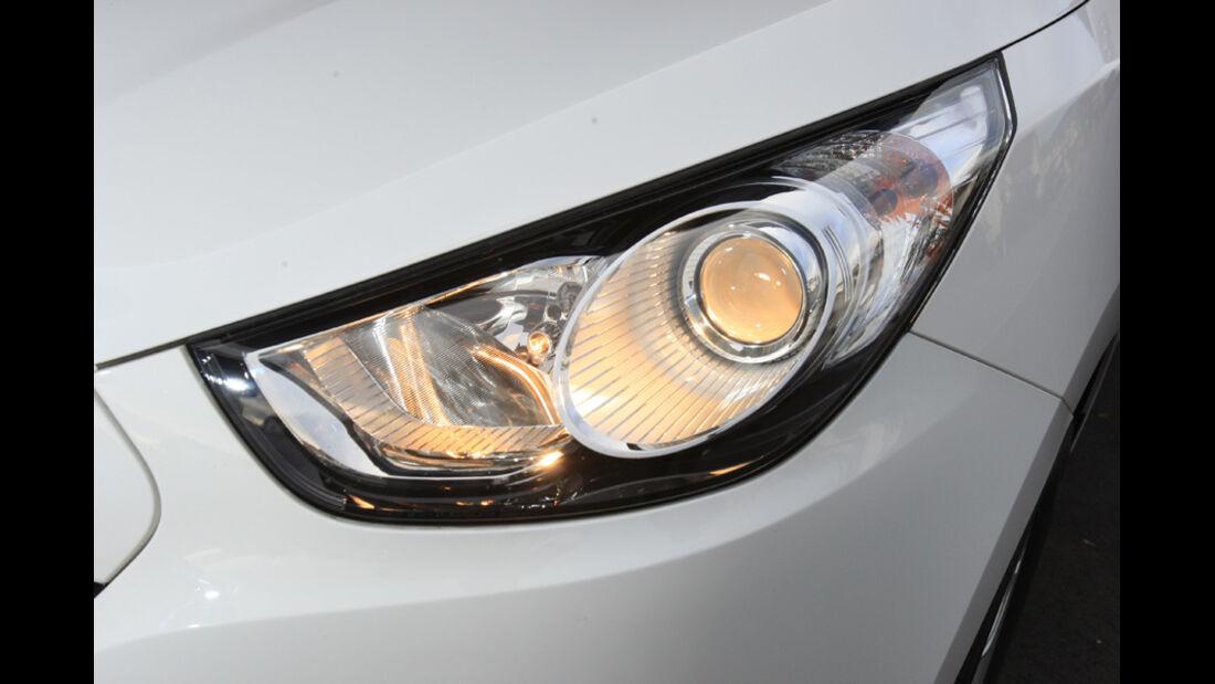 Hyundai ix35 2.0 CRDi 4WD, Scheinwerfer