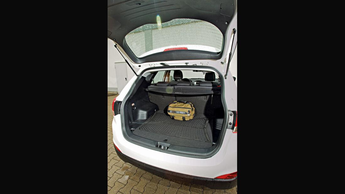 Hyundai ix35 2.0 CRDi, Kofferraum
