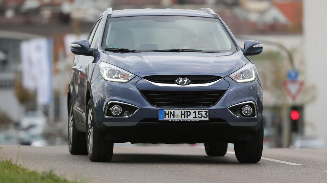Hyundai ix35 2.0 GDI 4WD, Frontansicht