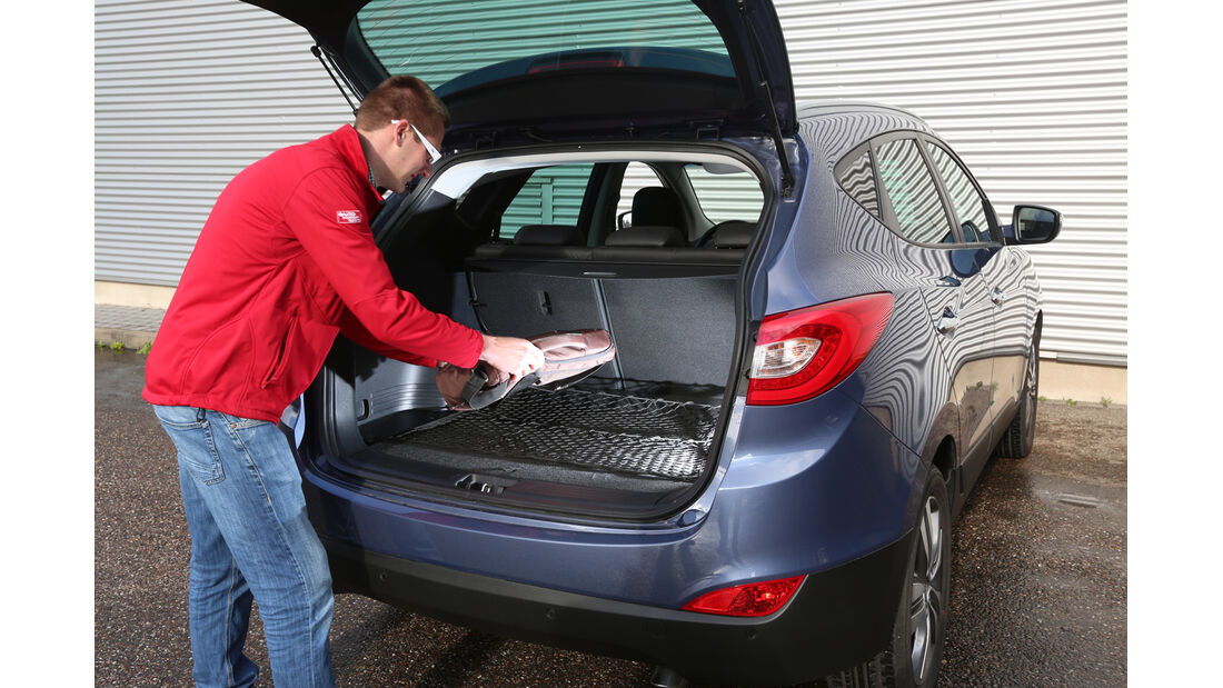 Hyundai ix35 2.0 GDI 4WD, Kofferraum