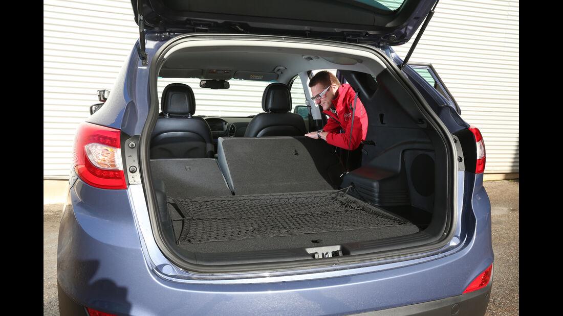 Hyundai ix35 2.0 GDI 4WD, Ladefläche