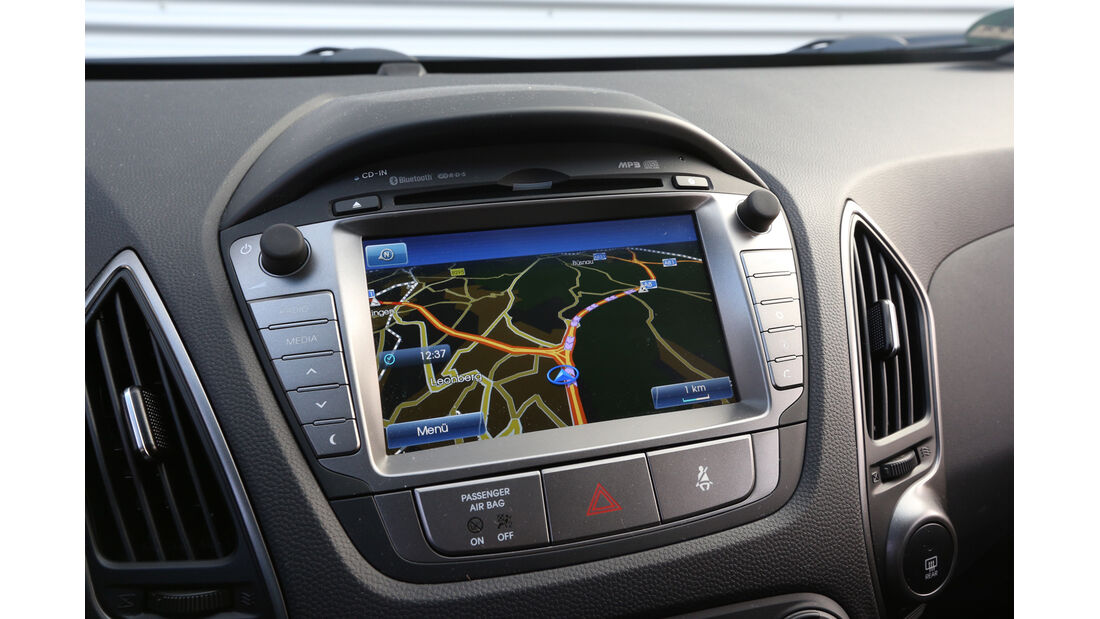 Hyundai ix35 2.0 GDI 4WD, Navi