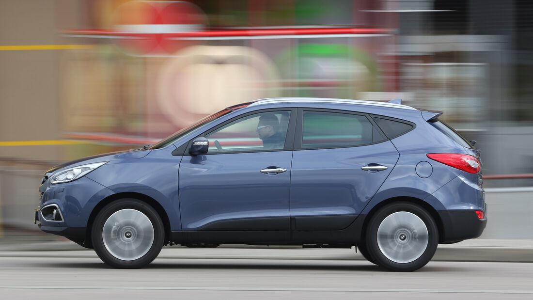 Hyundai ix35 2.0 GDI 4WD, Seitenansicht