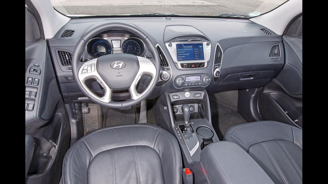 Hyundai ix35, Cockpit